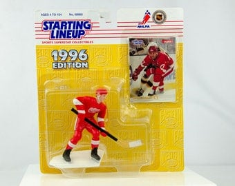 Starting Lineup NHL 1996 Paul Coffey Action Figure Detroit Red Wings