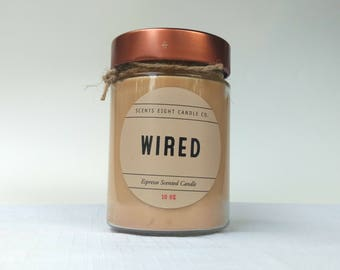 Wired - Espresso Soy Candle