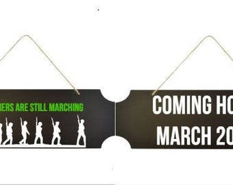 Soldier Still Marching Baby Announcement (infertility/ttc/ivf/iui/baby dust/pcos)
