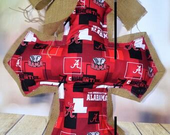 Door Hangers Hand Made Fabric Crosses
