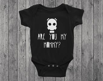 Doctor Who Onesie | Baby Bodysuit | Toddler Tee | Graphic Tee | Are You My Mummy | Gas Mask | Nerd Onesie | Geek Baby