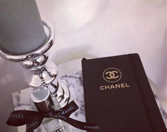 Chanel style notebook