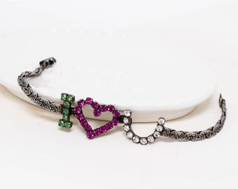 I Love You Bracelet - MULTI