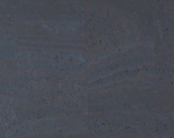 Cork Fabric Charcoal Gray - EcoFriendly - Made in Portugal