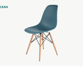 MoF eames chair 2017 new colour Ocean. set of 2 or Set of 4.