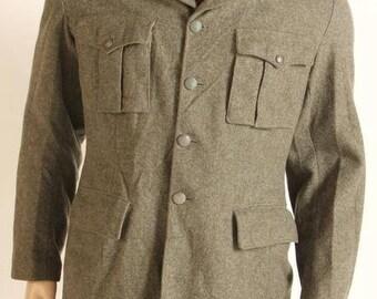 army surplus/military issue serge jacket