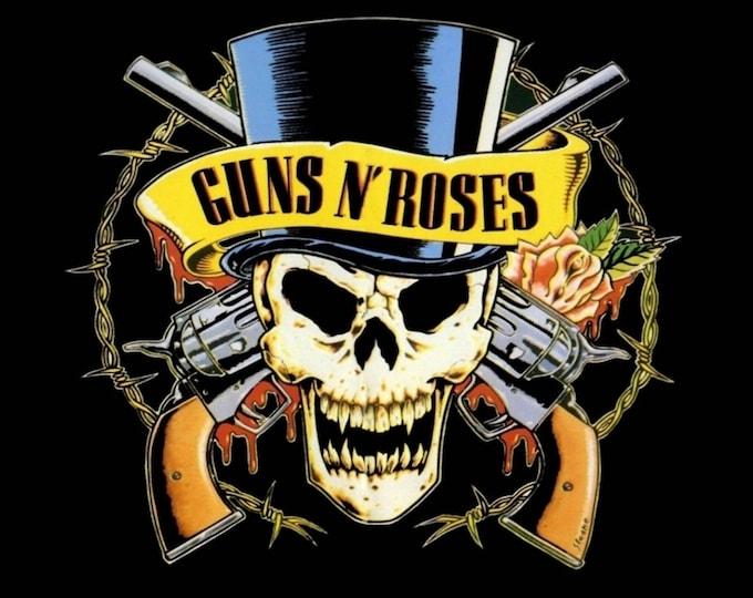 Framed Guns N' Roses Print 11x17 Black Slim