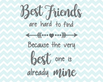 Quotes For Best Friends Captivating Best Friend Quotes  Etsy