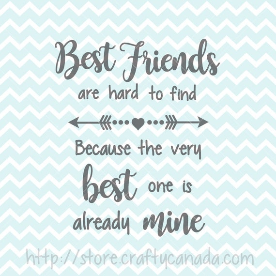 Best Friend Weird Quotes: Best Friends SVG & PNG Best Friends Quote Best Friends