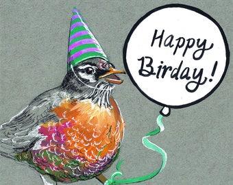 "Happy ""Birday"" Card"