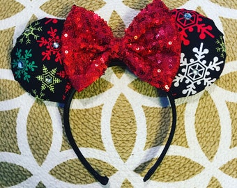 christmas minnie ears minnie mouse ears mickey mouse ears minnie ears mickey