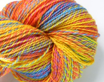 Fire Dreamer - Original Fingering - BFL Hand-Dyed Yarn