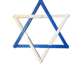 Magen David - Star of David - Jewish Custom Lego® Set from JBrick