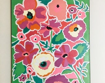 Bright Floral Painting