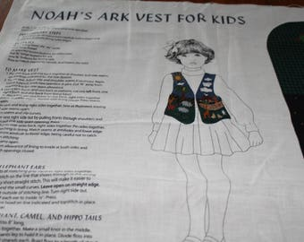 3.00 Each Kids NOAH'S ARK VEST
