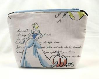 Cinderella Inspired Makeup Bag