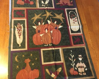 Fall Quilting Panel by Sandy Gervais