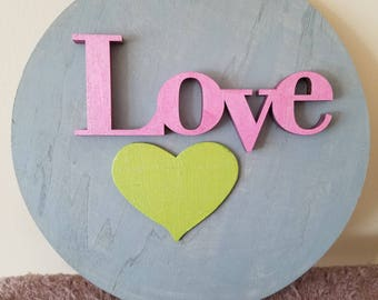 Love Painted sign