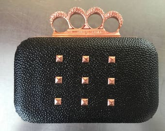 Brass Knuckle Purse/Clutch