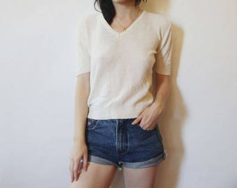 70s Knit Pullover Top XS/S