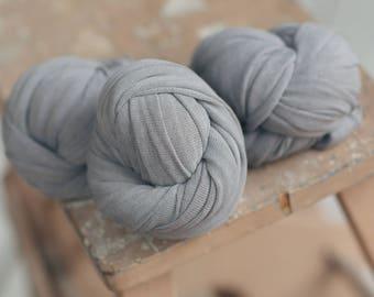 Slate Stretch Knit Wrap, Gray Stretch Knit Wrap, Newborn Stretch Knit Wrap, Newborn Fabric Layers, RTS