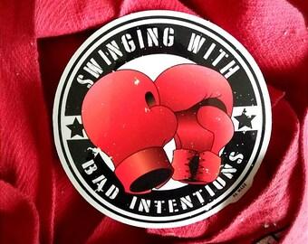 Boxing Vinyl Sticker