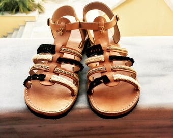 Handmade Leather Sandals - Gladiators
