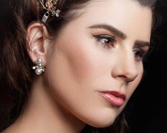 Bendigo wedding earrings