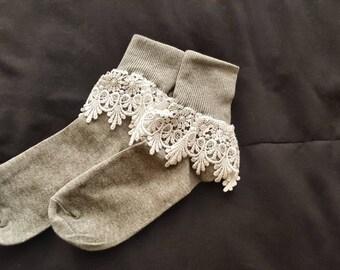 Women Lace Socks