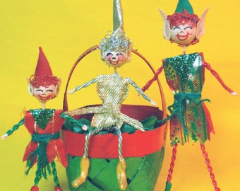 Upcycled Stickman Elves