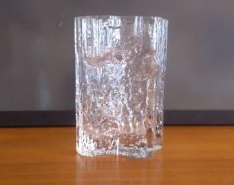 Tapio Wirkkala Finnish mid century  art glass - 'Pinus' vase