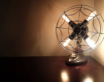 Fan Lamp | Table Lamp