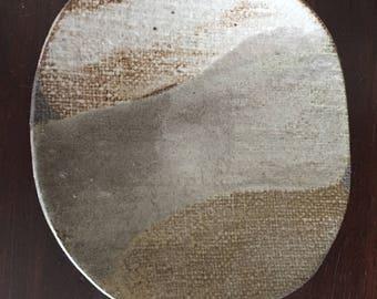 Handmade Elephant Ceramic Plate