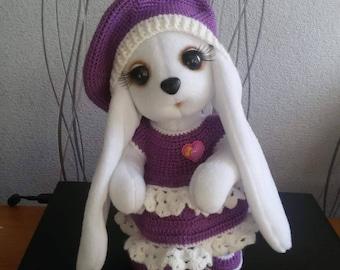 Plush bunny  плюшевая зайка