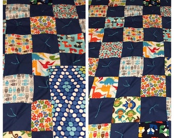 READY TO SHIP Baby Quilt