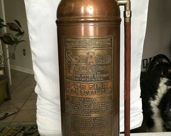 Vintage Soda Acid Fire Extinguisher - Fyre-Fyter SodAcid- Beautiful Condition!