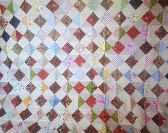 Handmade Patchwork Quilt- Kingsize Bed
