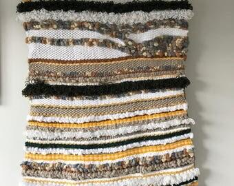 Large Hand Woven Wall Tapestry | Bohemian Wall Art | Weaving | Fibre Art | Textiles