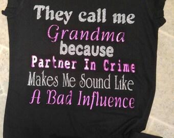Grandma partner in crime