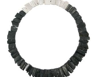 Schorl necklace
