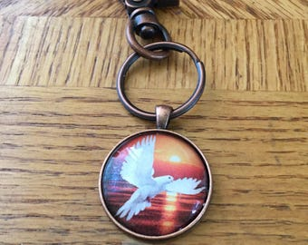 Holy Spirit Creation - Inspirational Keychain