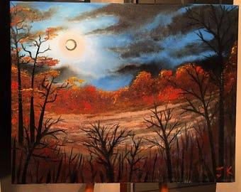 Cresent Autumn Moon