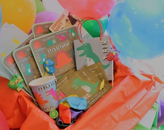 Complete Dinosaur Birthday Party Box