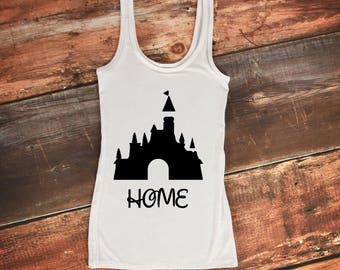 Disney Castle SVG, Disney svg, Disney Home SVG   Magic Kingdom SVG  Disney svg cut file   Silhouette Cricut Disney Castle Home svg