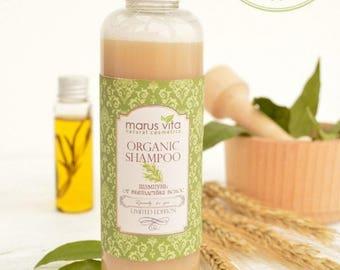 Organic Shampoo Against Hair Loss. Natural Shampoo. Shampoo handmade. Organic Hair Care.Vegan. Herbal Shampoo. Vegan Shampoo. Shampoo