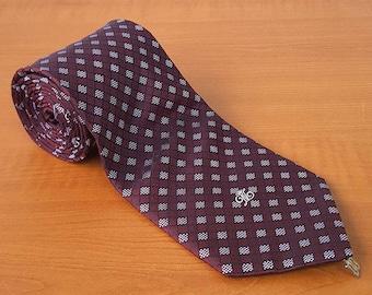 Vintage DAKS Mens Silk Necktie Casual Suit Neck Tie 072