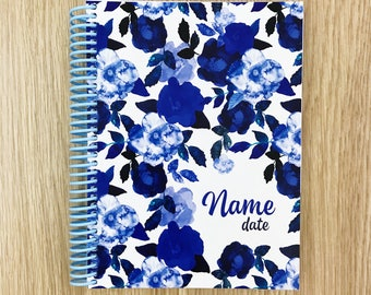 2018 Customised Diaries & Planners | Design Your Own Planner 'Blue by You'