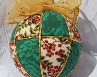 Handmade Christmas Kimekomi Ornament