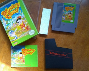 Mystery Quest NES, VERY nice!