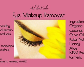 Eye MakeUp Remover - 2oz - Organic